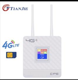 Wireless CPE 4G Wifi Router Portable Gateway FDD TDD LTE WCDMA GSM Glo