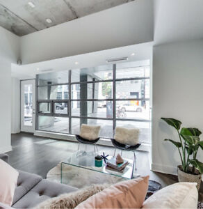 Rarely Offered Ground Floor Live/Work Loft W/Private Entrance