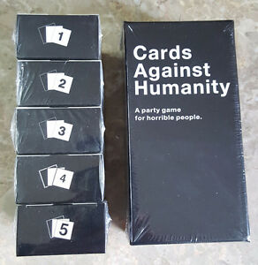 Cards Against Humanity - Brand New & Sealed