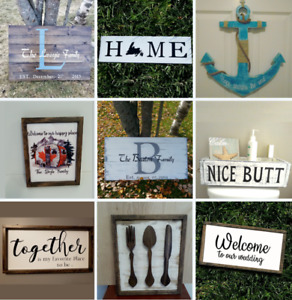 Handcrafted Home Decor ( A lot of options)