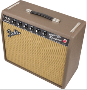 Fender Princeton Reverb (knotty pine, fudge brownie or blonde)