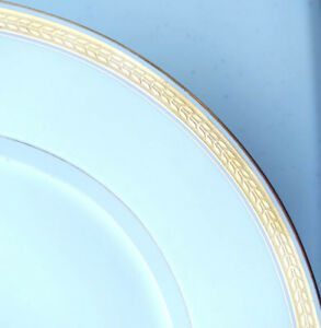 Théodore Haviland Limoges Classic St.George gold wheat rim