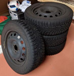 4 Like New Winter Tires Nokian 185/60 R15