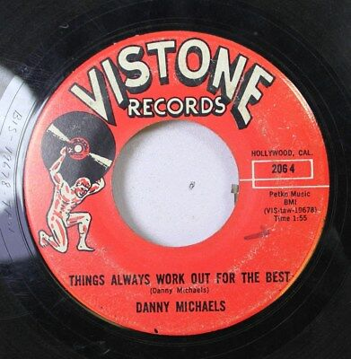 50'S & 60'S 45 Danny Michaels - Things Always Work Out For The Best / Watching