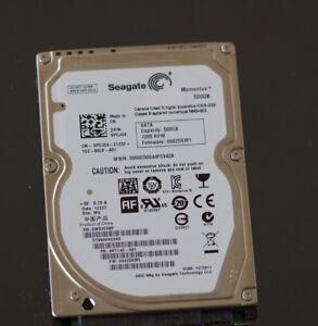 HDD Laptop - Seagate 500gb 7200RPM