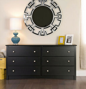 Dresser with 2 night tables