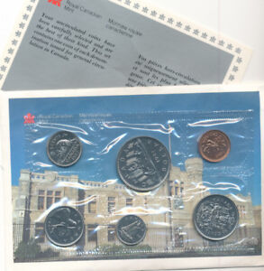 1987 Collector's Canadian Coin Set