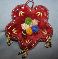 Hand beaded Antique Pin cushion