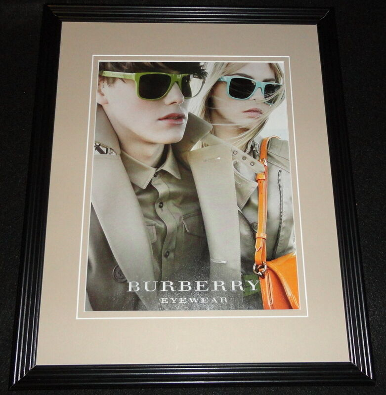 2015 Burberry Eyewear Framed 11x14 ORIGINAL Advertisement