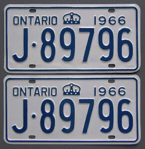 Classic Car YOM License Plates - Ministry Approval Guaranteed Kitchener / Waterloo Kitchener Area image 7