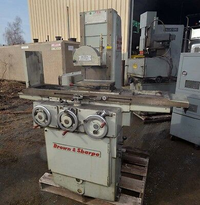 Brown And Sharpe 618 Surface Grinder Inv.33123