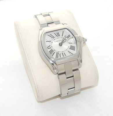 CARTIER ROADSTER 2675 STAINLESS STEEL WRISTWATCH