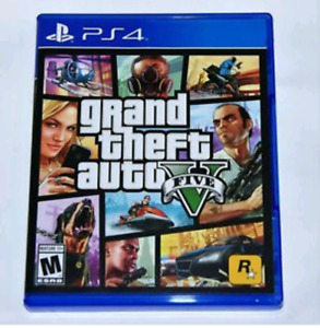 GTA 5/Grand Theft Auto 5 for PS4