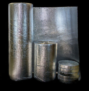 REFLECTIVE FOIL INSULATION FOR WALLS, FLOORS, DUCTS,etc...