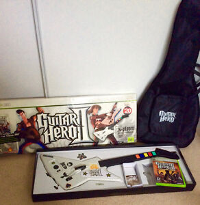 Xbox 360 Guitar Hero II bundle by Activision