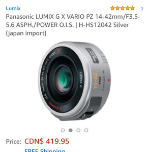 Used Lumix 14-42 power zoom  trade or sell