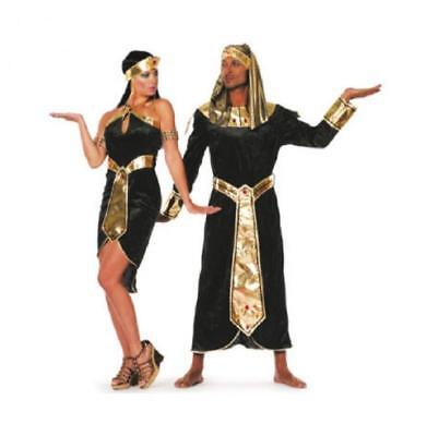 Ägypterin Kostüm Kleid Cleopatra Pharao Pharaonin Pharaoh Kleopatra Damen Nil