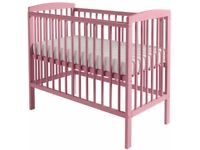 Kinder Valley Mini Kai Cot in Dusky Pink