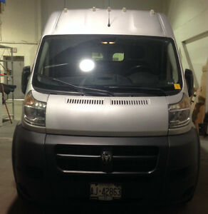 2014 Ram Promaster 2500, high roof, extra long