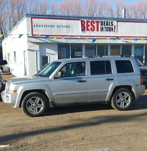 2007 Jeep Patriot Limited AWD Fully Loaded SUV