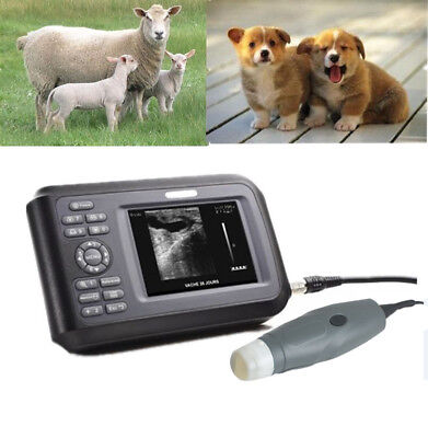 Handheld Veterinary Ultrasound Scanner Portable Rectal Probe V7 For Dogpetcat
