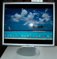 Great working 19 inch LCD computer monitor with all cords