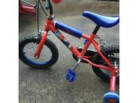 Kids Children Bike Spiderman