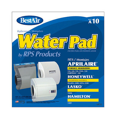 BEST AIR A10 Humidifier Filter Evaporator Water Pad AprilAire Honeywell