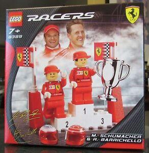 "Kit Lego ""RACERS"" M.Schumacher & R.Barrichello, no.8389"