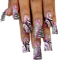 A HUGE assortment of nail tips...