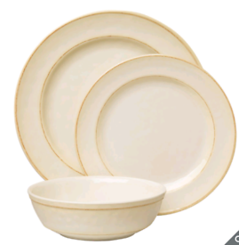 Melamine high quality 12 piece dinnerware set, brand new