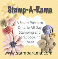 Stamp-A-Rama:  An all day Rubber Stamping & Scrapbooking Event