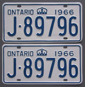 Classic Car YOM License Plates - Ministry Approval Guaranteed! Belleville Belleville Area image 5