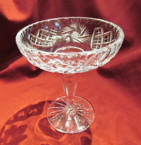 Vintage Cut Crystal Glass Pedestal Compote/Candy Dish Kitchener / Waterloo Kitchener Area image 4