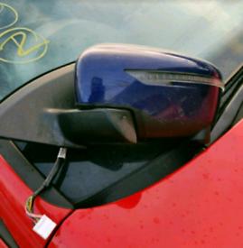 Nissan qashqai j11 mk2 nearside front door mirror blue 14-19