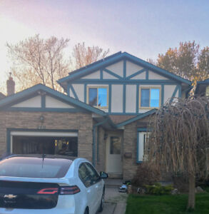 Furnished 3 bedroom house in Brant Hills with private yard