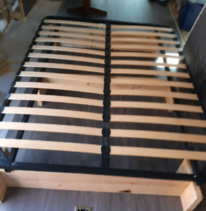 Bed frame for trailer 5th wheel RV lightweight