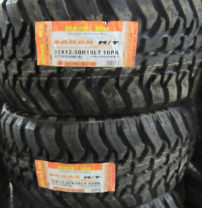 Discounted Prices Dakar Rally M/T 33X12.50R18