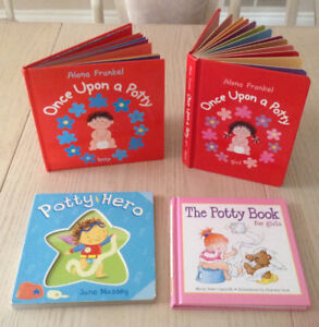 Kids Baby  POTTY  books - Hardcover