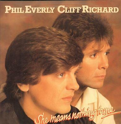 "Phil Everly(7"" Vinyl P/S)She Means Nothing To Me-Capitol-CL 276-UK-Ex/VG+"
