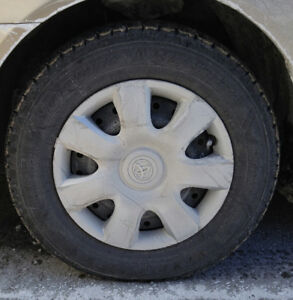 """16"""", 7 spoke Toyota Camry wheelcovers WANTED for 15"""" rims"""