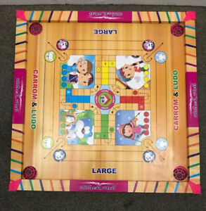 Black Ash kids carrom board, ludo, snake & ladders (5 in 1)