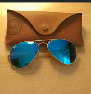 Ray ban blue aviators