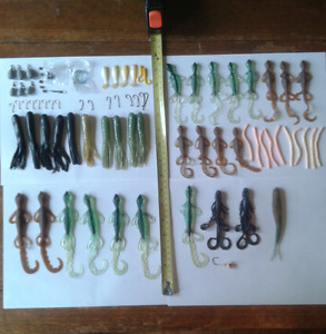 Assorted Fishing Tackle.