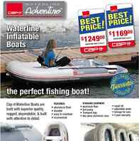 Cap-it Waterline Boats Now Available