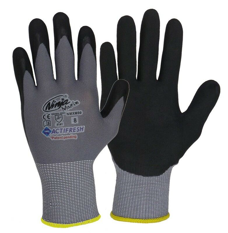 SATINIOR Unisex Halbe Finger Handschuhe Winter Dehnbar Knit Fingerloses Tippen Handschuhe
