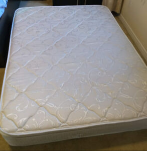 A double/full size mattress on sale