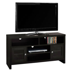 "Monarch Cappuccino TV Stand for TVs upto 55"". New in Box​"