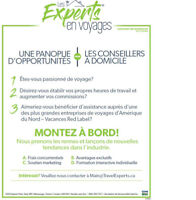 Agent de voyages Externes / At home travel agent