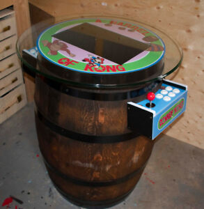 Wine Barrel Arcade Machine **500+ Games with warranty**